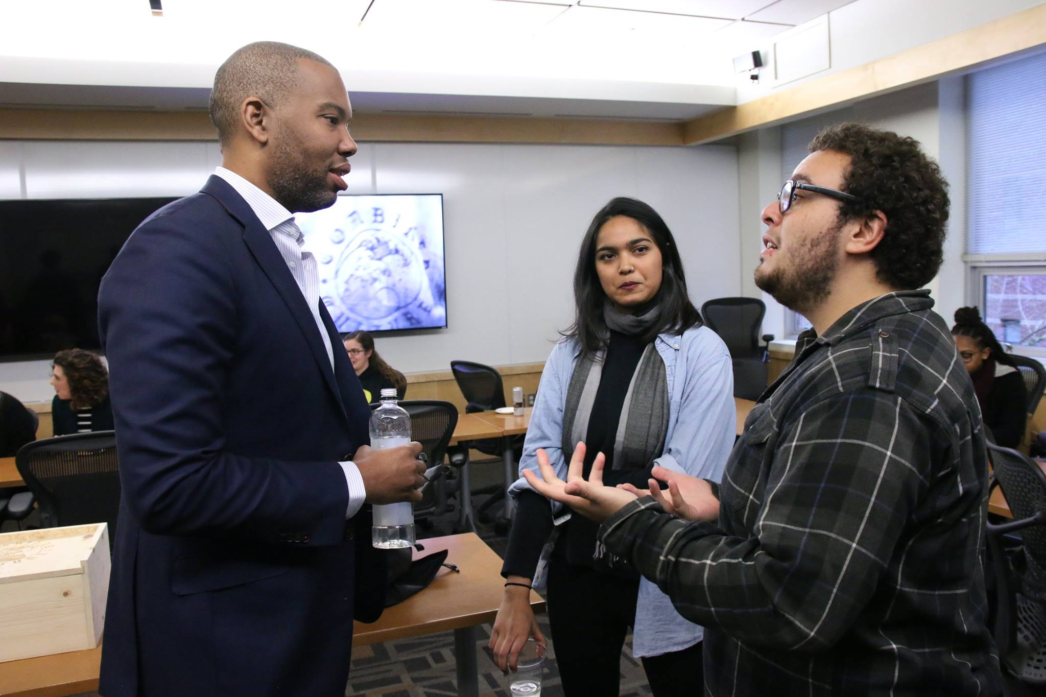 Ta-Nehisi Coates @ Eugene, OR - I had the opportunity to meet and talk with Ta-Nehisi Coates about the challenges I face in describing my identity as a Brazilian in the U.S. and how to describe the