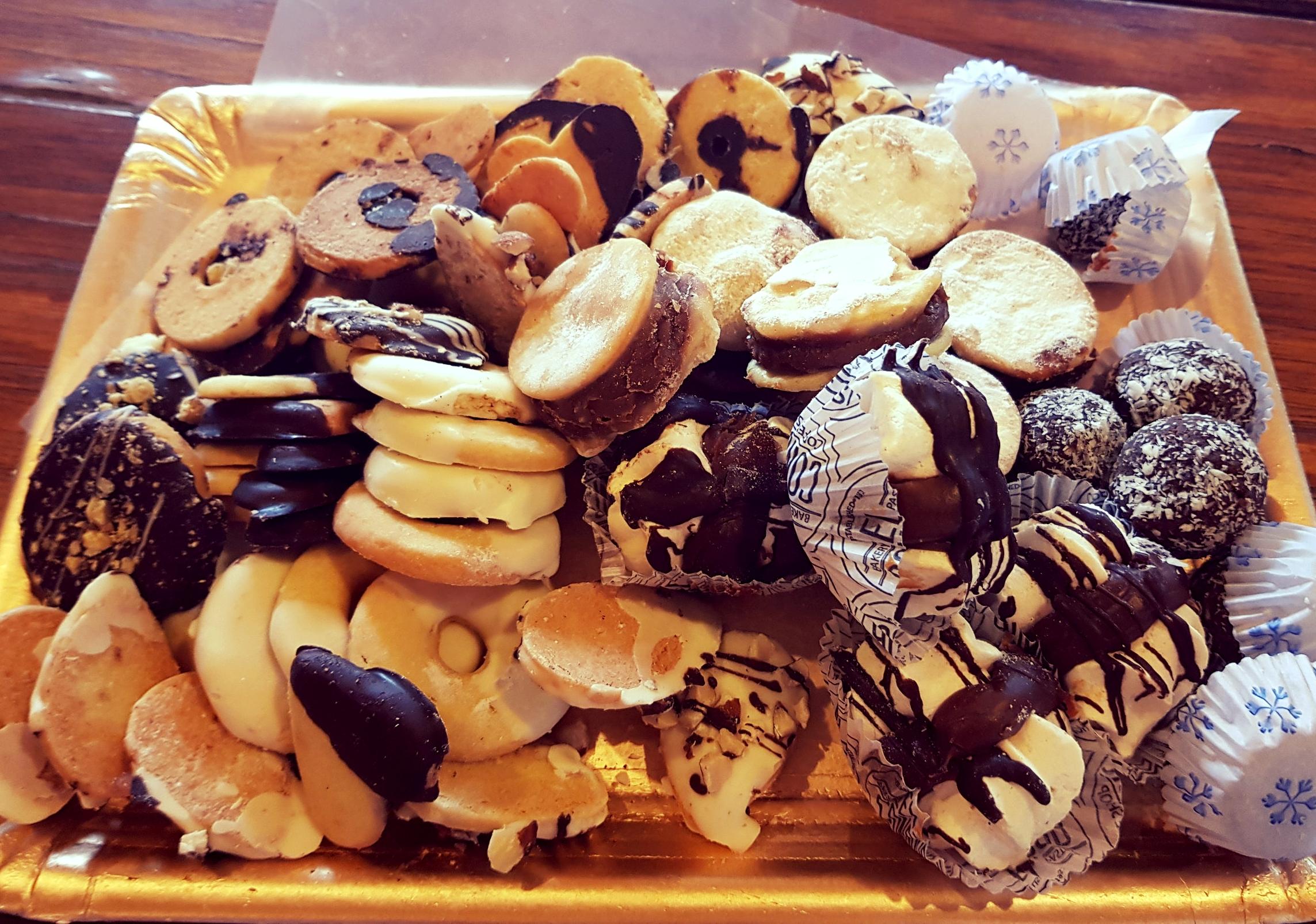 A pile of beautiful sweet treats!