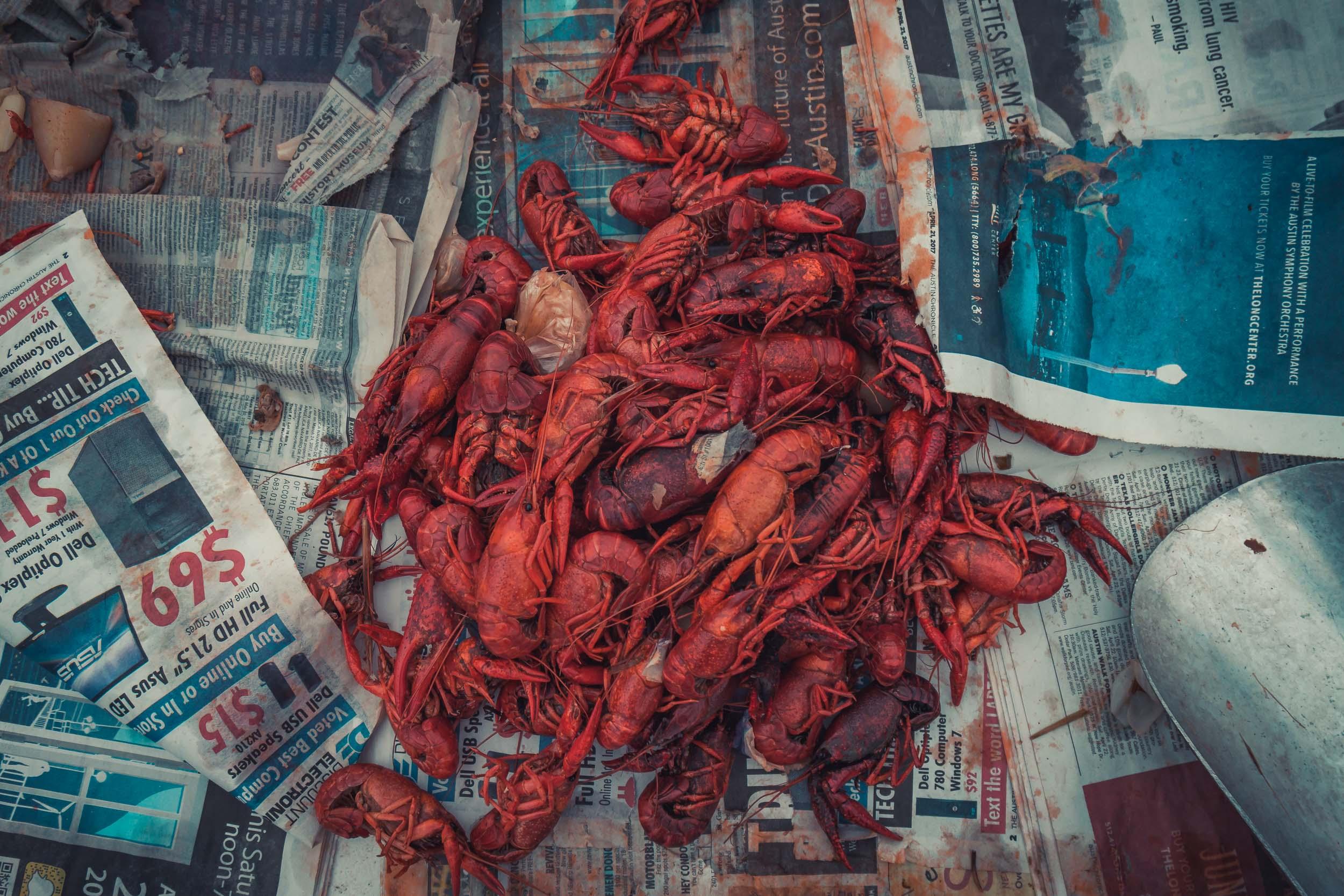 Buzz Mill, Austin TXMay 6th, 2017 - Crawfish boil