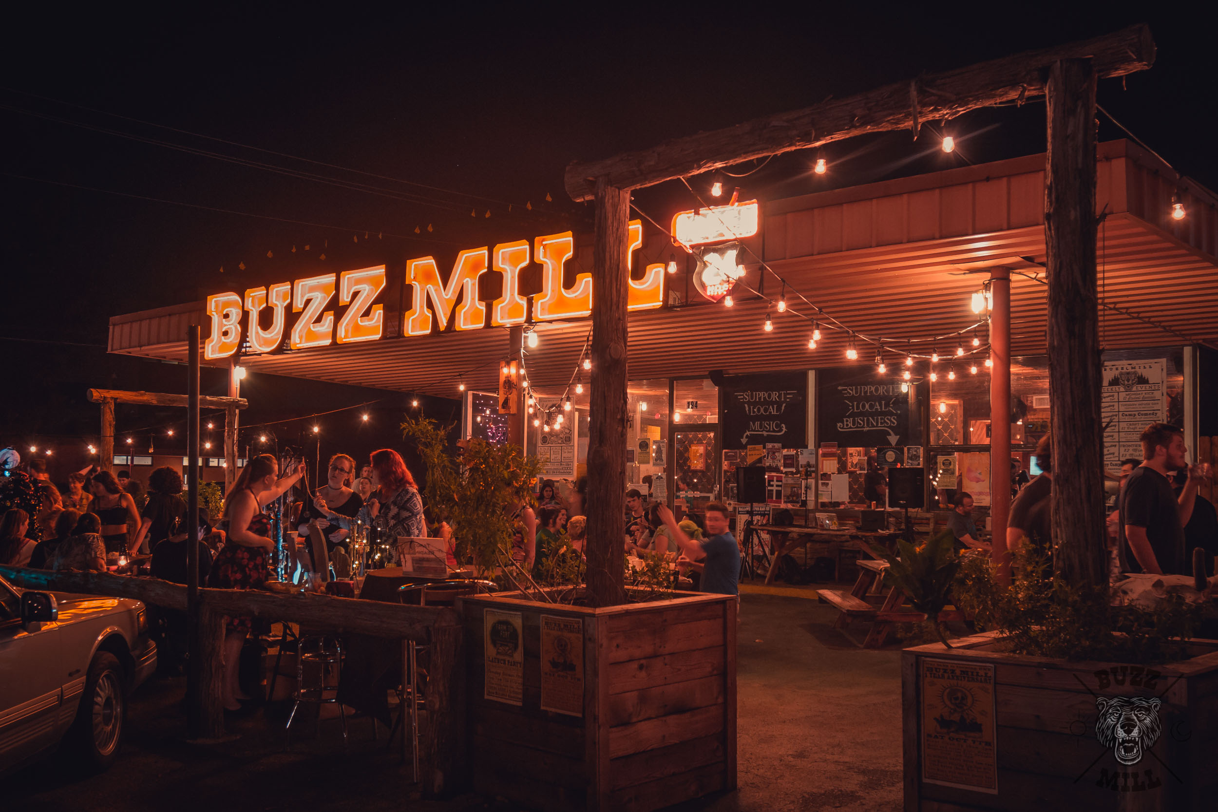 Buzz mill, San marcos txOctober 7th, 2017 - one year anniversary