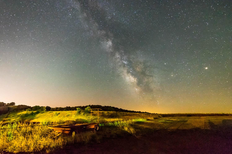Milky Way near Lancaster.