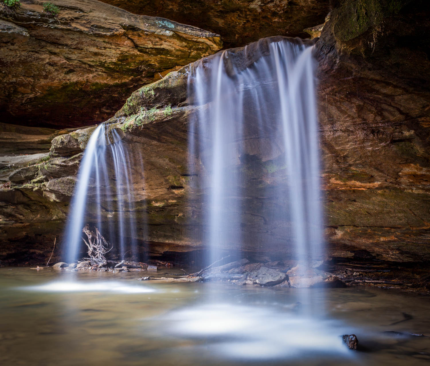Old Man's Cave Waterfall