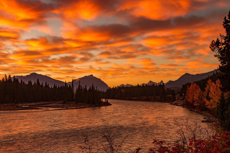 Athabasca River Sunrise.
