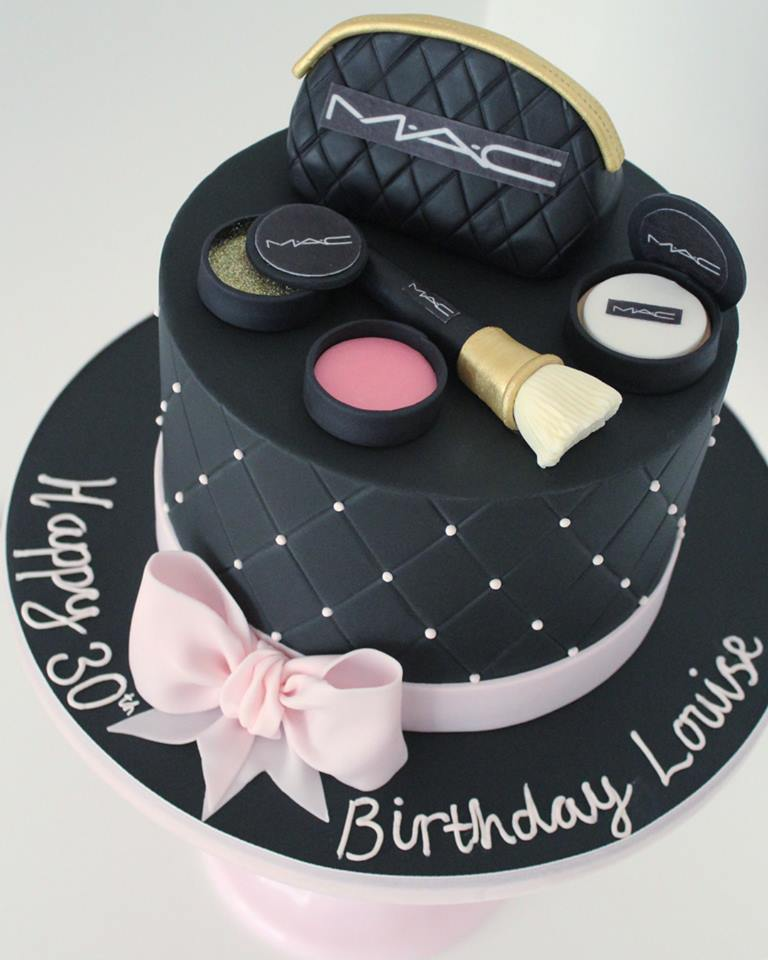 MAC Makeup 30th Birthday Cake
