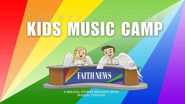 Your kids will learn musical drama, be exposed to various instruments, and hear from the Bible during this year's Kid's Music Camp, open to kids who've completed Kindergarten through 6th grade. Click the events link in our bio and register your child today!