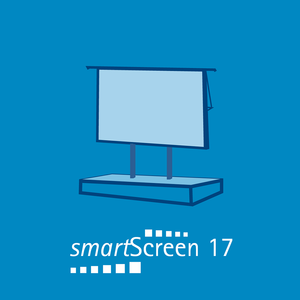 smartScreen 17 - 5.60 m Breite3.15 m Höhe