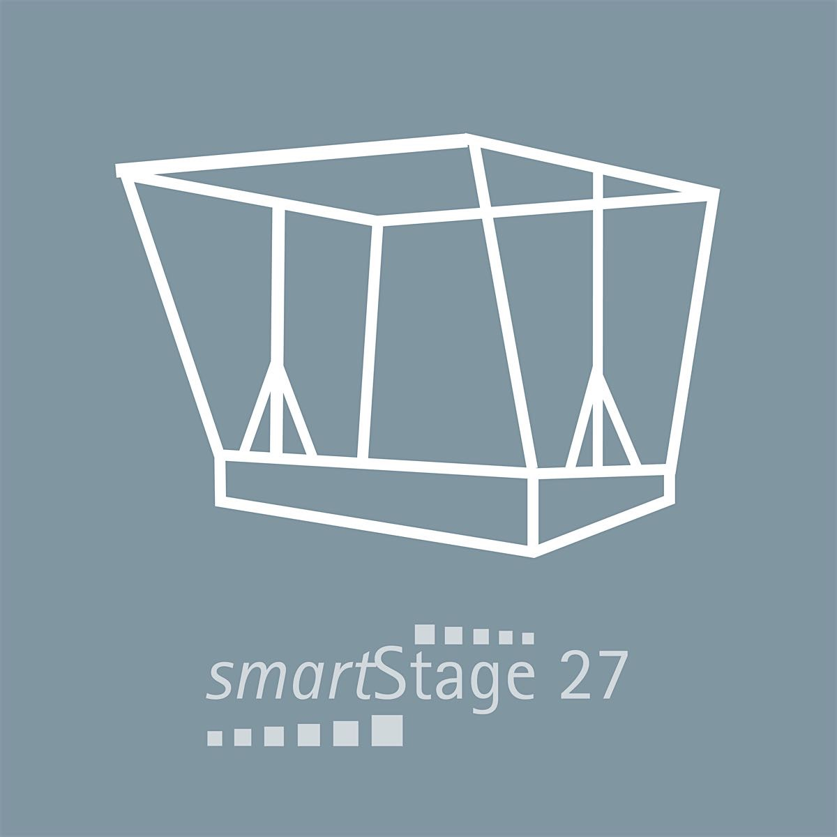 smartStage 27 - 27 qm area5.95 m Width4.55 m Depth4.70 m Height