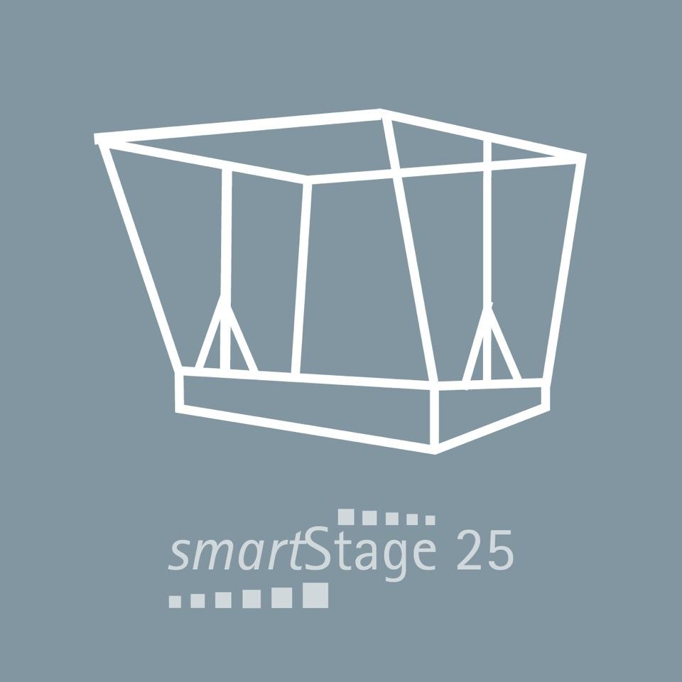 smartStage 25 - 25 qm area5.94 m Width4.00 m Depth4.28 m Height