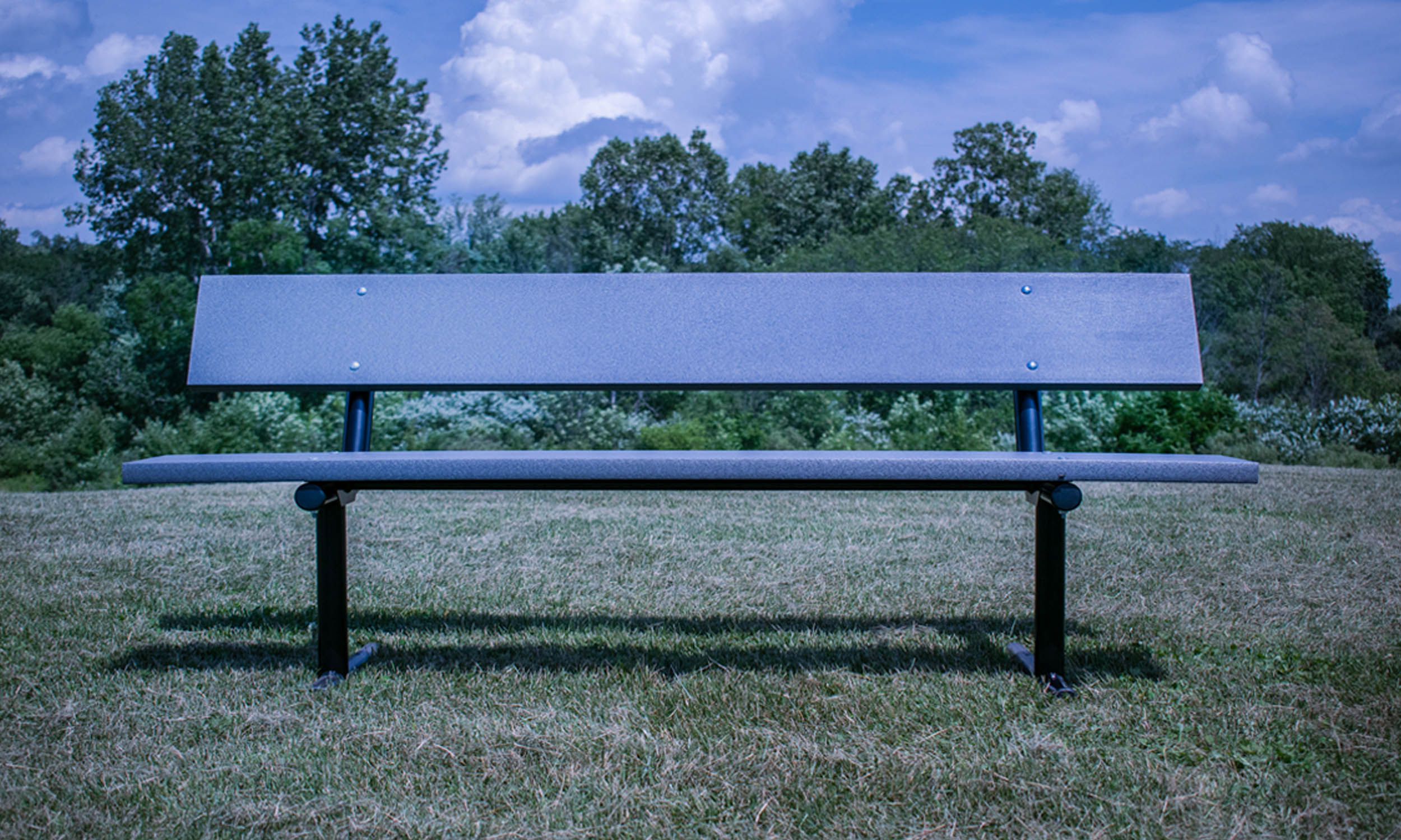 Picture of: Advantage Outdoor Products Site Furnishings More 6 Recycled Plastic Bench Leisure Park Bench