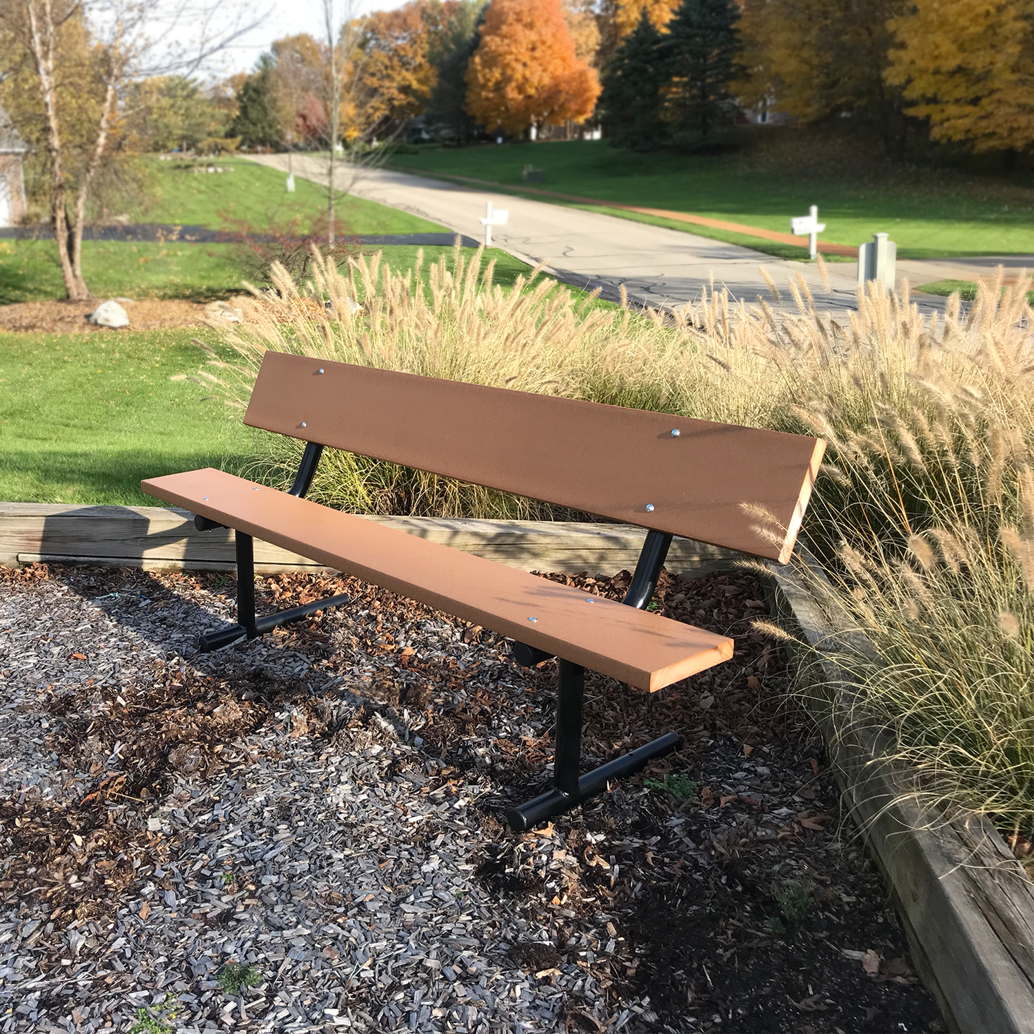 Leisure Park Bench