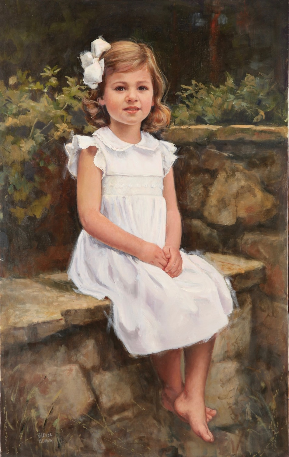 Isabella - Chattanooga Tennessee Oil on Linen - 37x27