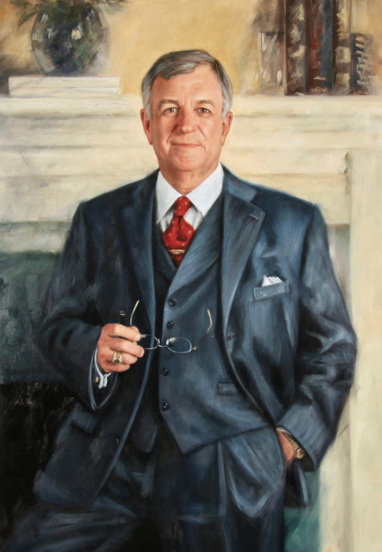 Bob Sherrer - Claremore Oklahoma - Oil on Linen - 40x30