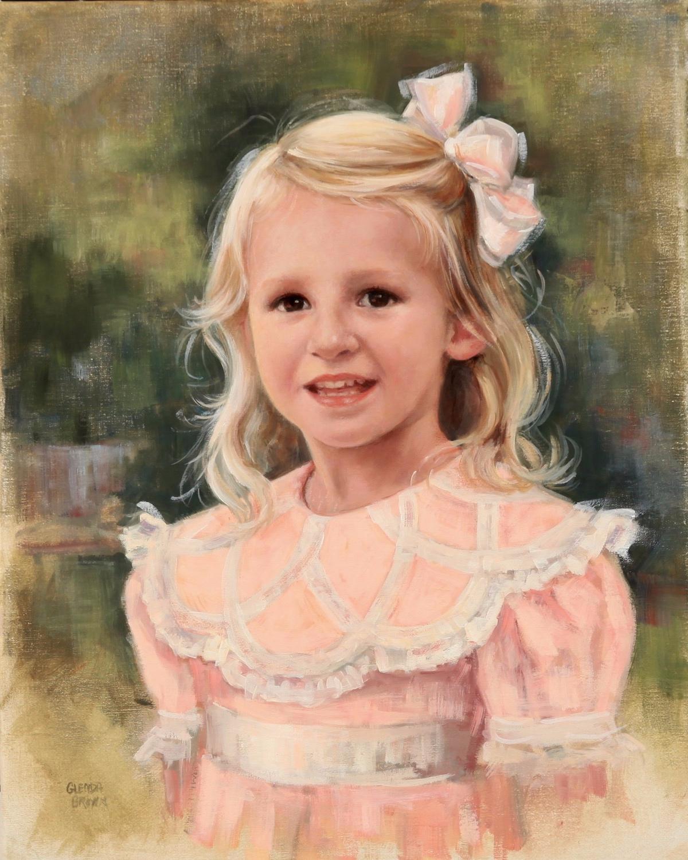 Lucy Mac - Montgomery Alabama - Oil on Linen - 20x15