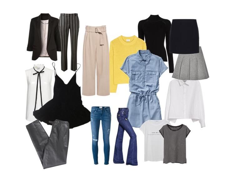 foto 1 - desapego - roupas basicas.JPG