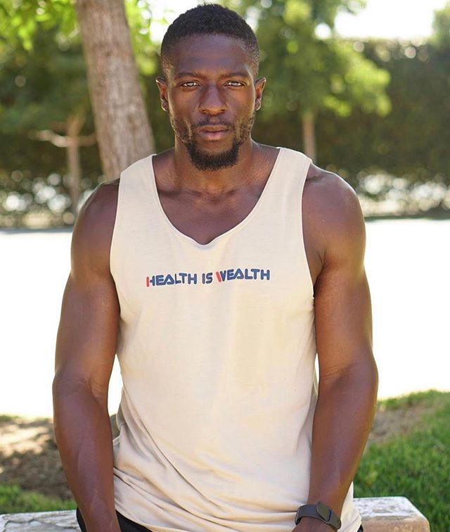 Men's Premium Cloth Tanks still available on our site... limited run. Shop with us today! #HealthIsWealthLifestyle ❤️=💰