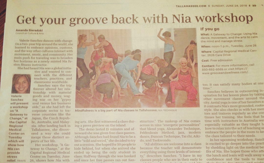 Council on Culture & Arts, COCA Spotlight - Get your groove back with Nia Techique® workshop