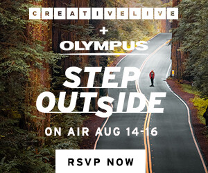 CreativeLive + Olympus Step Outside event