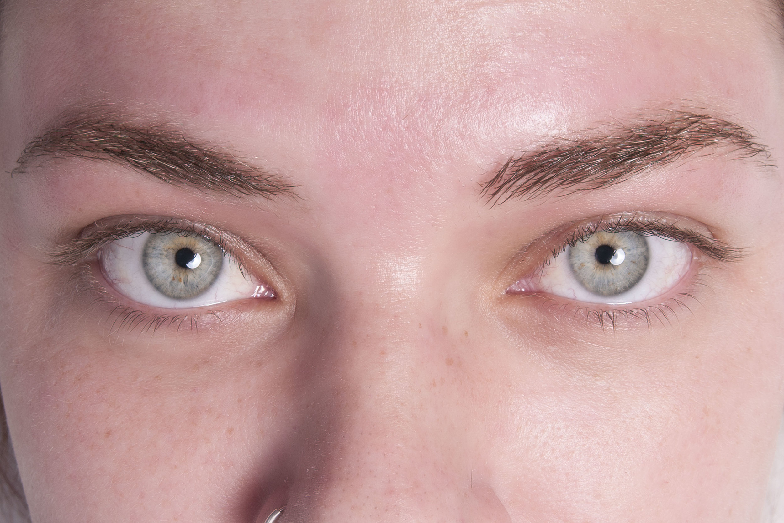 Before a Lash Lift with Tinting