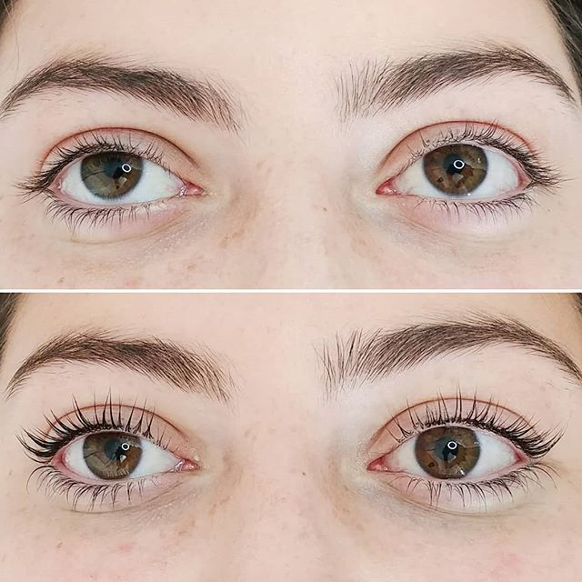 A gorgeous Lash Lift and Tint to start this Sunday morning off right! 😘 . A Lash Lift is a no maintenance lash transformation. It lasts 6-8 weeks and when you add in a Lash Tint it looks like you're wearing mascara! 😯 . Book your next lash transformation now! 💖 . . . . #lashes #eyelashes #lashlift #lashtint #lashliftandtint #beforeandafter #sunday #sundaymorning #nomaintenance #lashtransformation #lookslikemascara #booknow #barrie #serenitybeautybarca