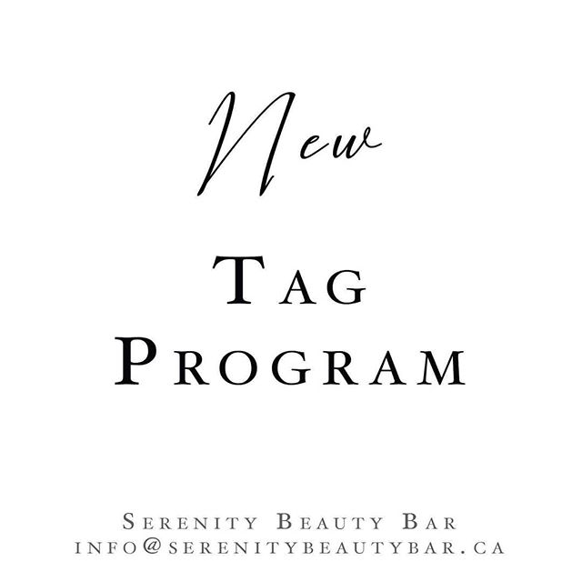 Our new Tag Program lets you show off your beauty treatment results while getting 10% off your next appointment! 😯 . Tag us and use hashtag #serenitybeautybarca to be elidgle for the 10% off. We check every day so start showing off those bomb lashes and brows!! 💖 . . . . #promo #tagprogram #savings #new #lashes #brows #makeup #serenitybeautybarca #barrie
