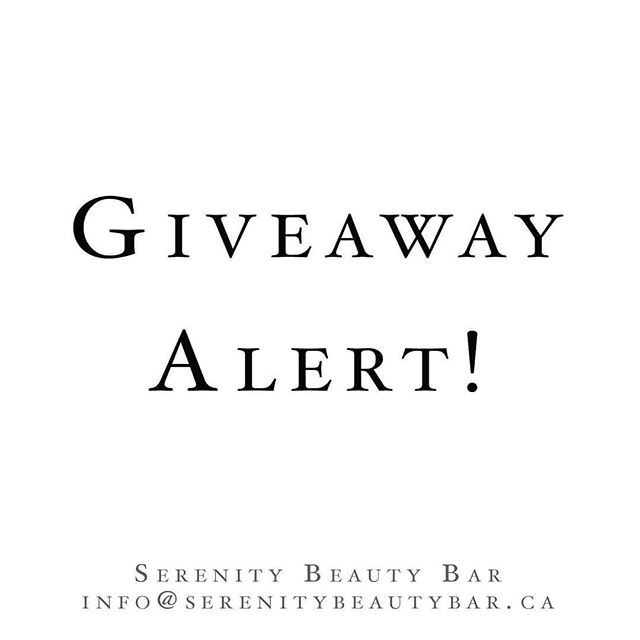 🚨 Giveaway Time 🚨 . Don't forget, we have tickets for two people to enjoy the @simcoecountybridalshow for the whole weekend! . You need to comment with your wedding date and be following both @serenitybeautybar_canada and @simcoecountybridalshow to qualify! . Winners will be announced October 15th!
