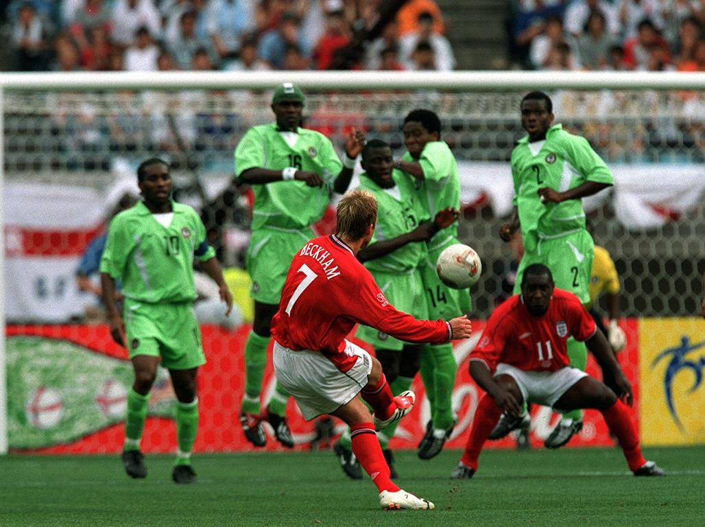 England last played Nigeria at the 2002 World Cup, drawing 0-0 Getty