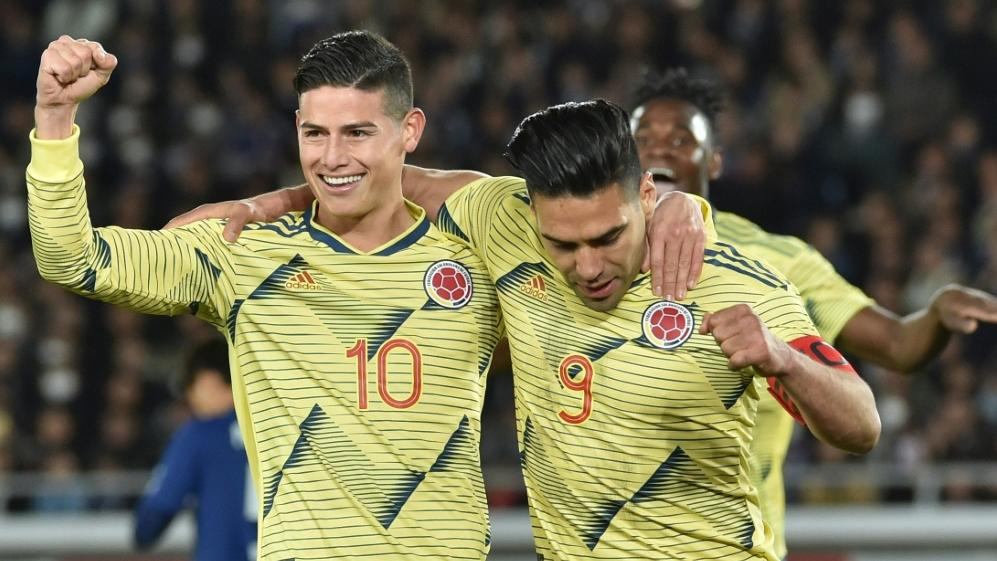 COLOMBIA BEAT JAPAN TO GIVE QUEIROZ WINNING START