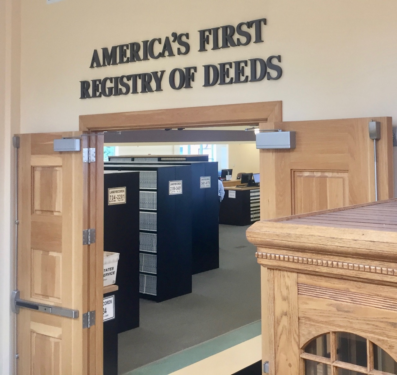"""America's First Registry of Deeds"""