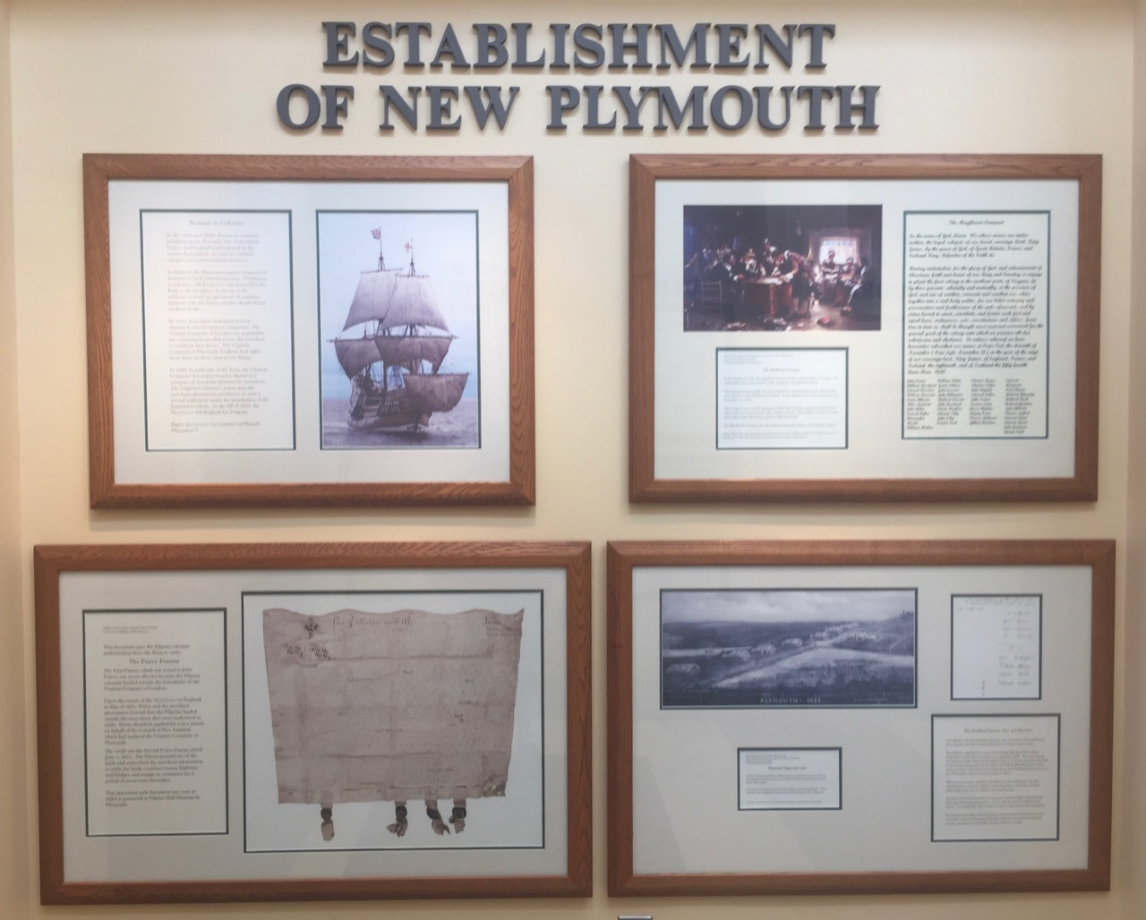 """Establishment of New Plymouth"""