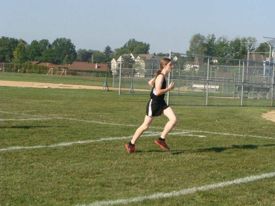 Keith running his first 5k. (circa 2012)