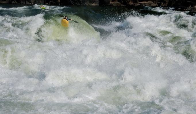 The Boof at #5, Zambezi River
