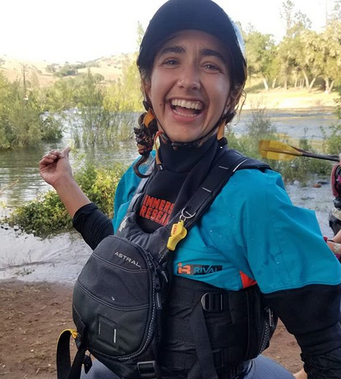 "- About the Author..Sarah ""Sarita"" Kay is an outstanding community member, writer and whitewater kayak instructor for Cali Collective."
