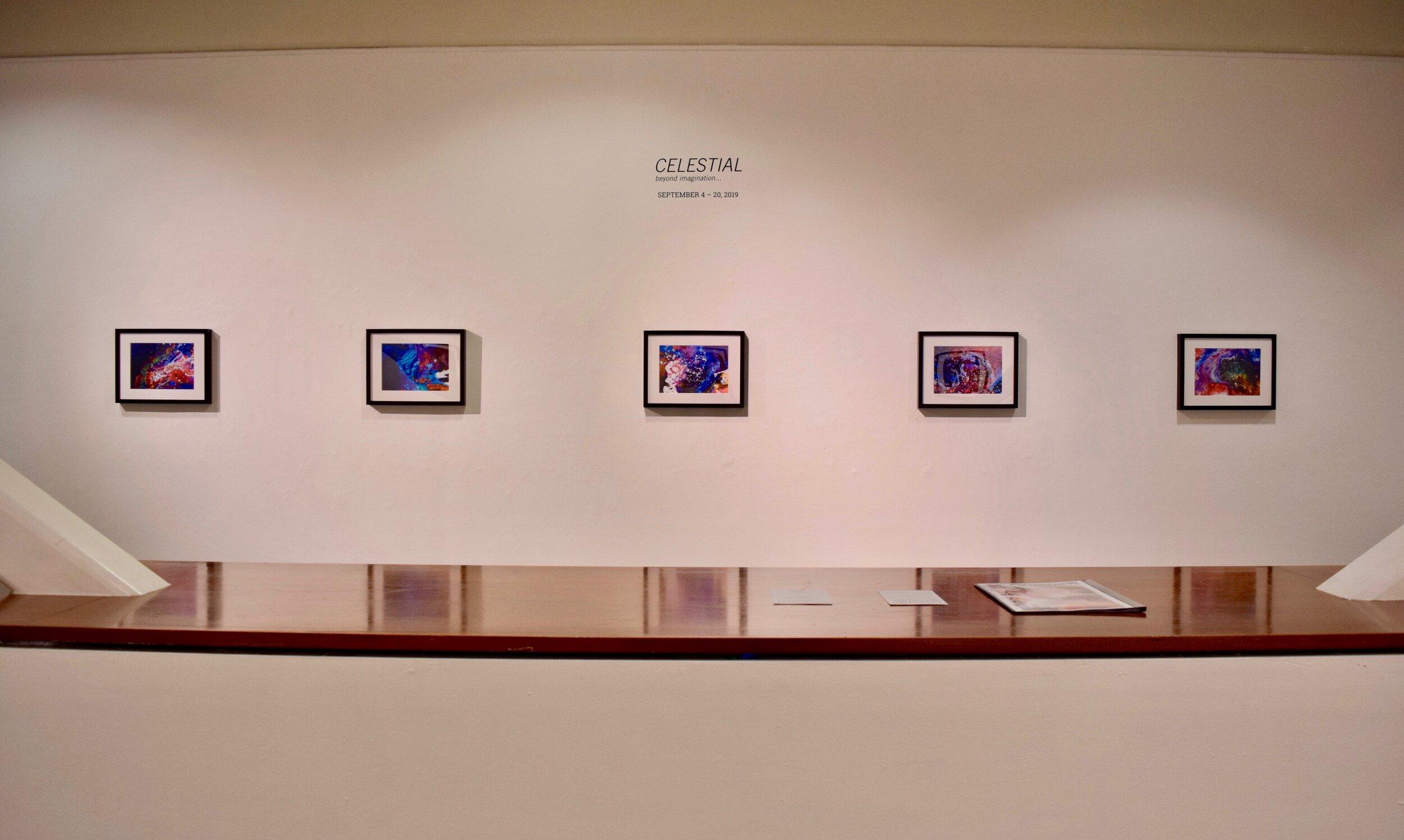 Celestial, Gallery View, Cheok
