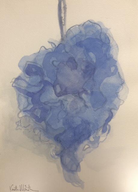 Blue Loofah