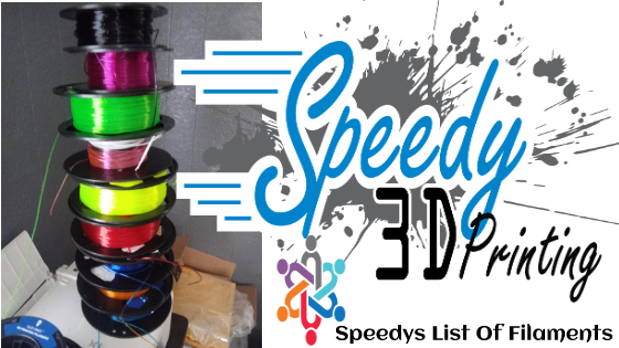 Click the picture to see the material and filament Speedy uses..
