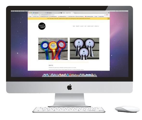 Website Design for Special Twist