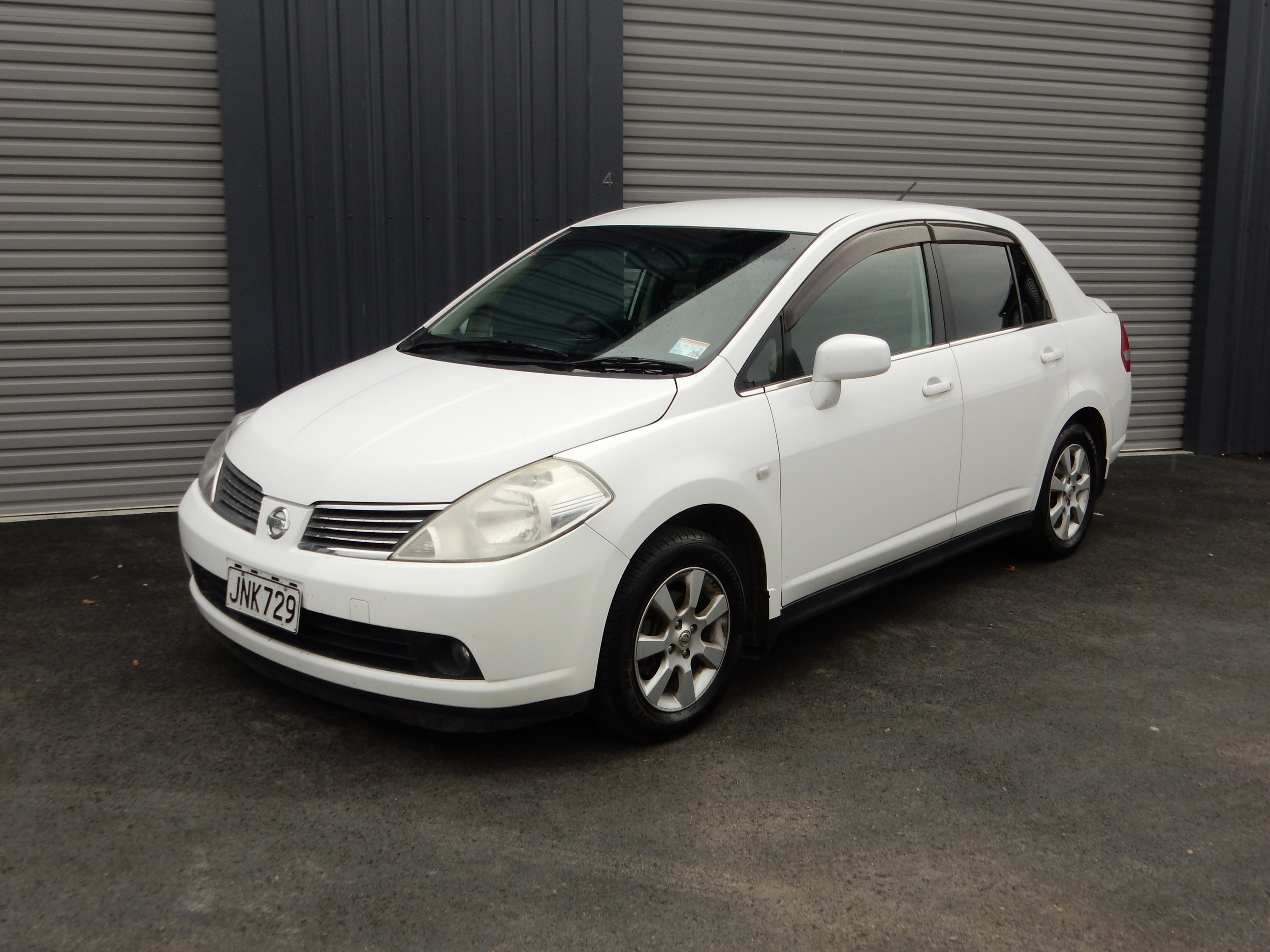Nissan Tilda Sedan - 2005 -20071500- 1800cc6.5L/100km fuel use45L fuel tankUnleaded fuelAir ConditioningTwin AirbagsAutomaticFrom $35 Per dayMinimum hire periods apply for this rate
