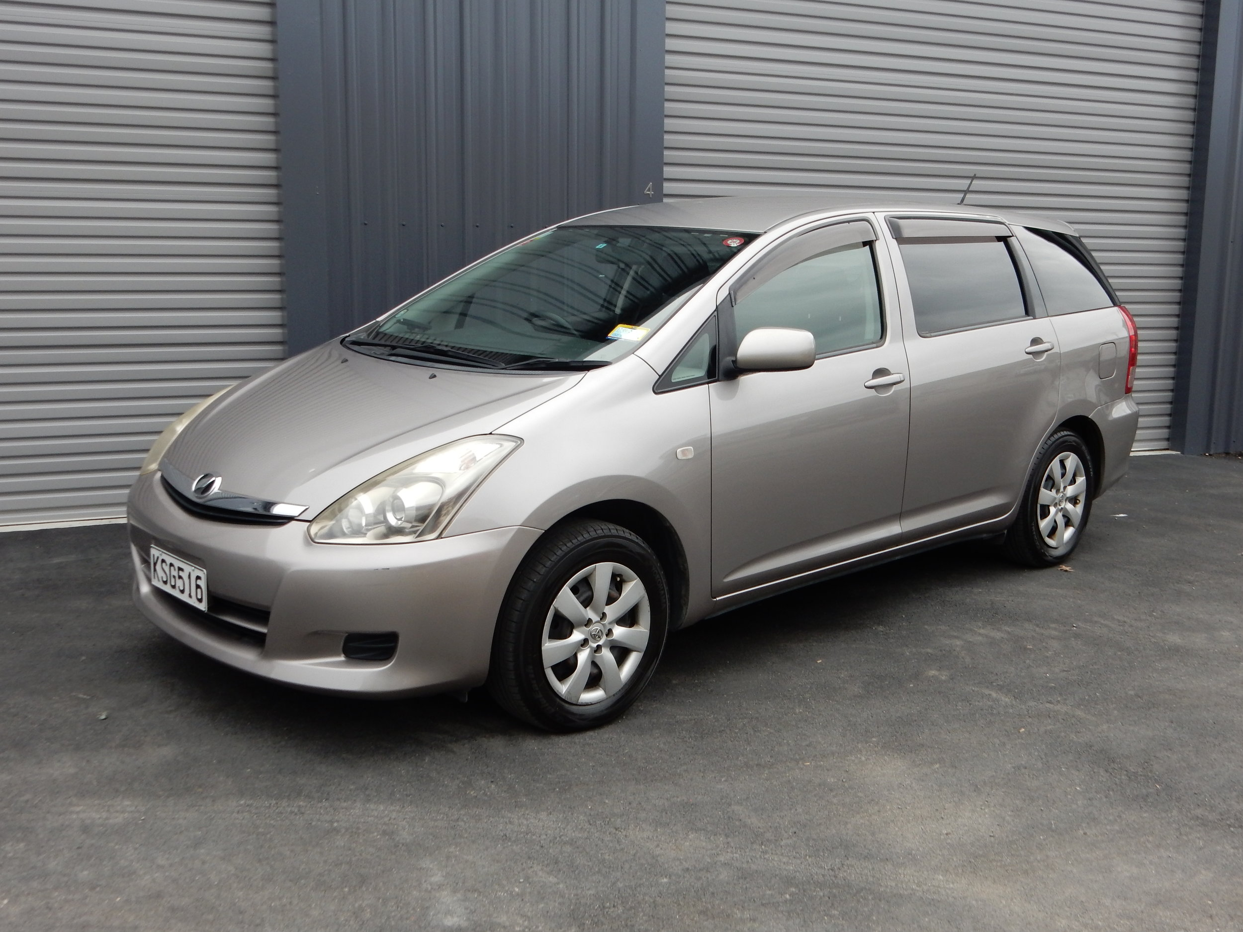 Toyota Wish Wagon - 2005 -20075 seats convert to 6-71800- 2000cc6.8L/100km60L fuel tankUnleaded fuelTwin airbagsAir conditioningAutomaticFrom $45 Per dayMinimum hire periods apply for this rate