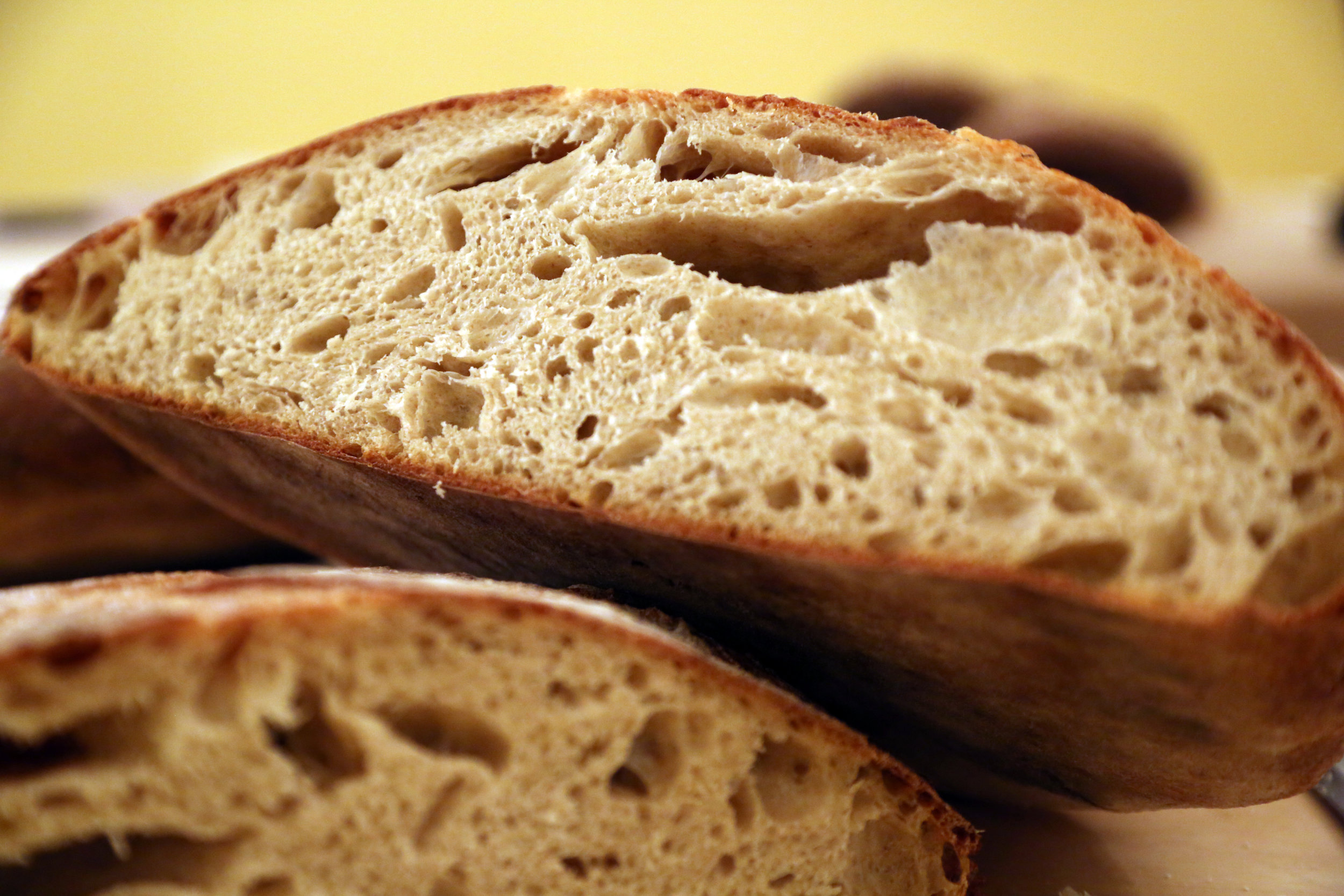 Fermented Bread - Long fermented sourdough breads are a complete different food than the commercialized