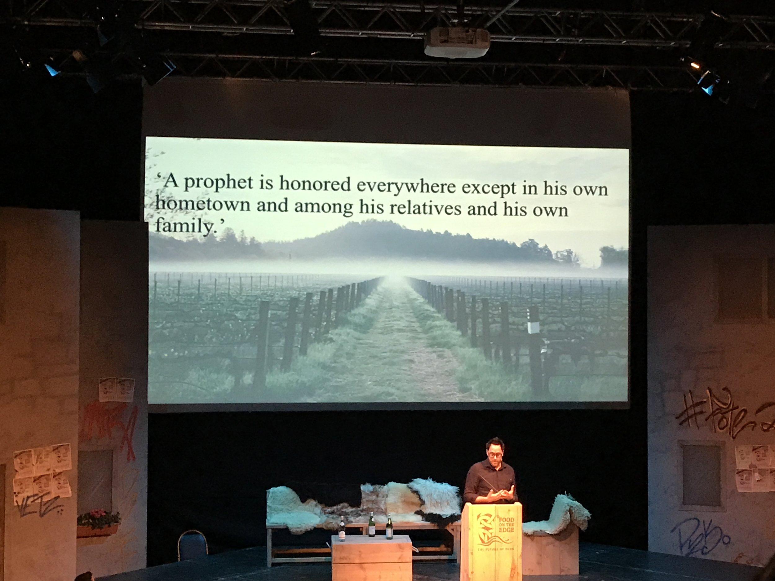 A prophet quote