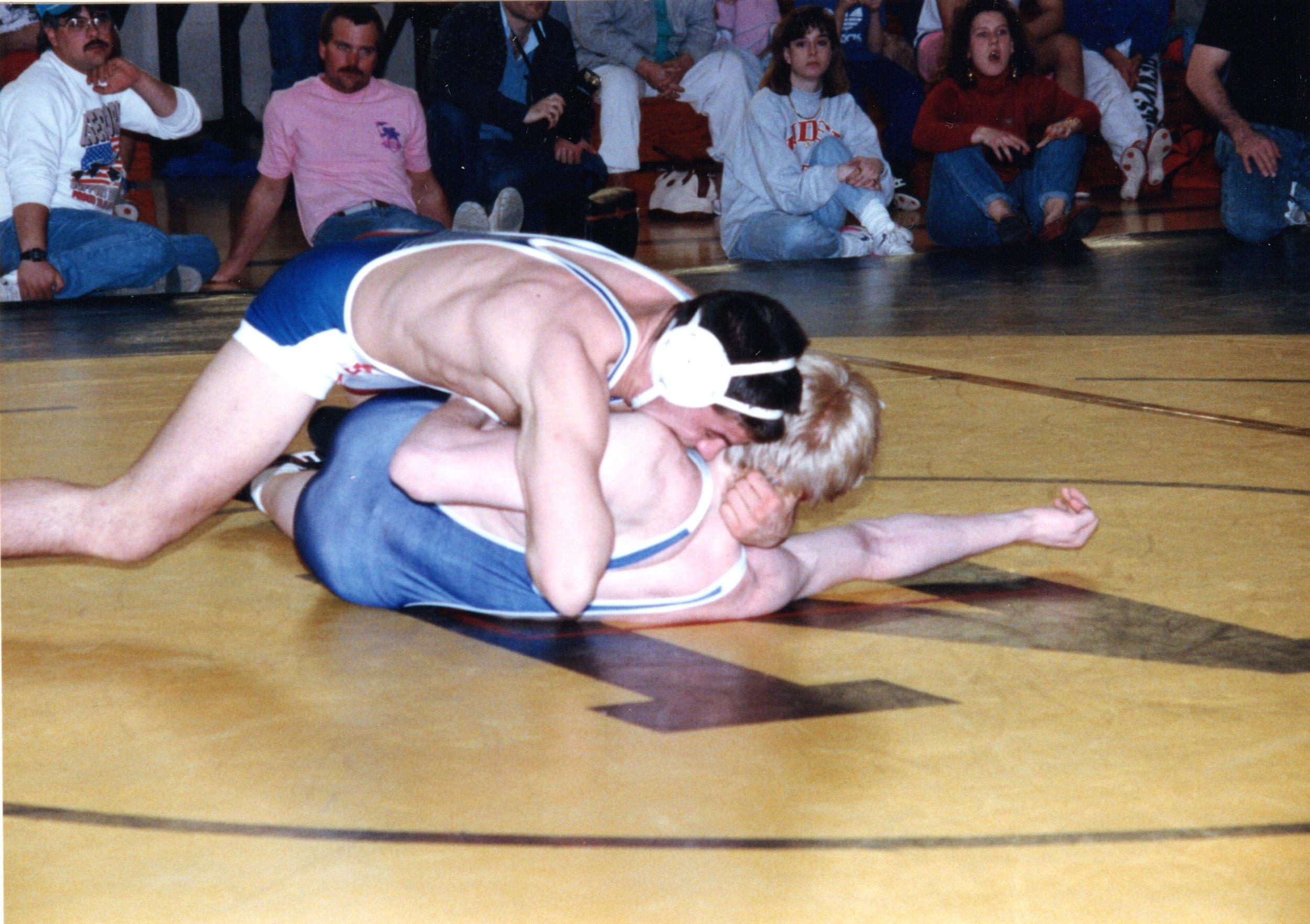 Bill Schindler Wrestling
