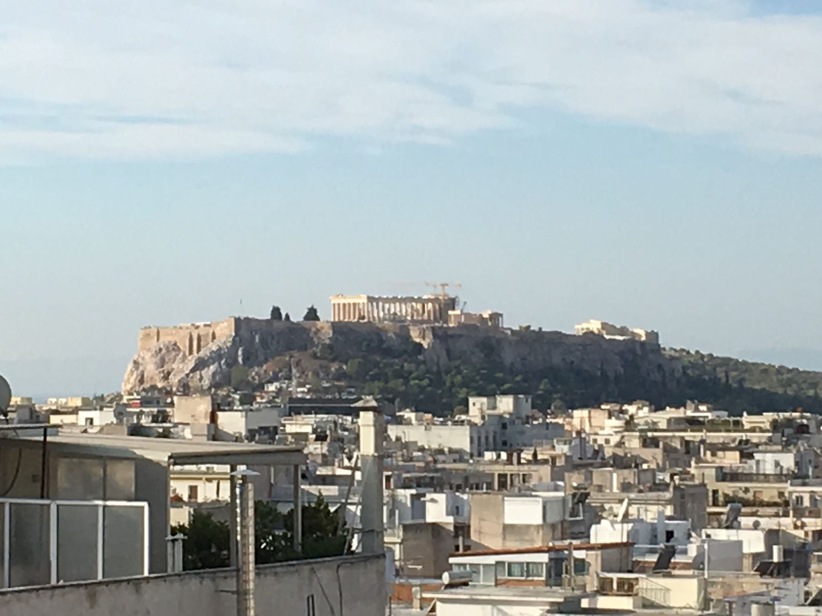 I dreamed of seeing Athens - one day with my own eyes ever since I first contemplated becoming an archaeologist.