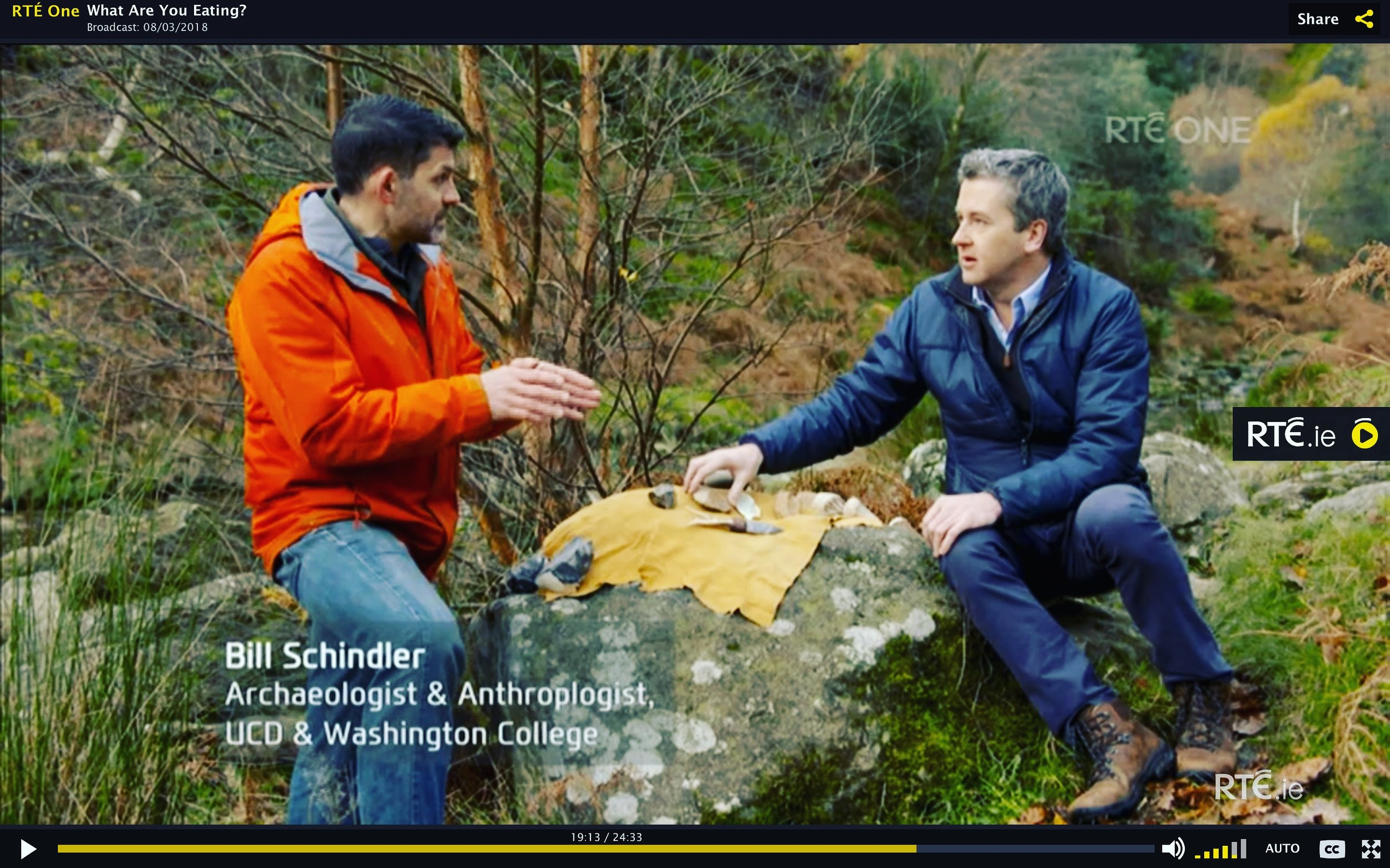 Check out Dr. Schindler on RTE1's  What Are You Eating  aired on March 8th
