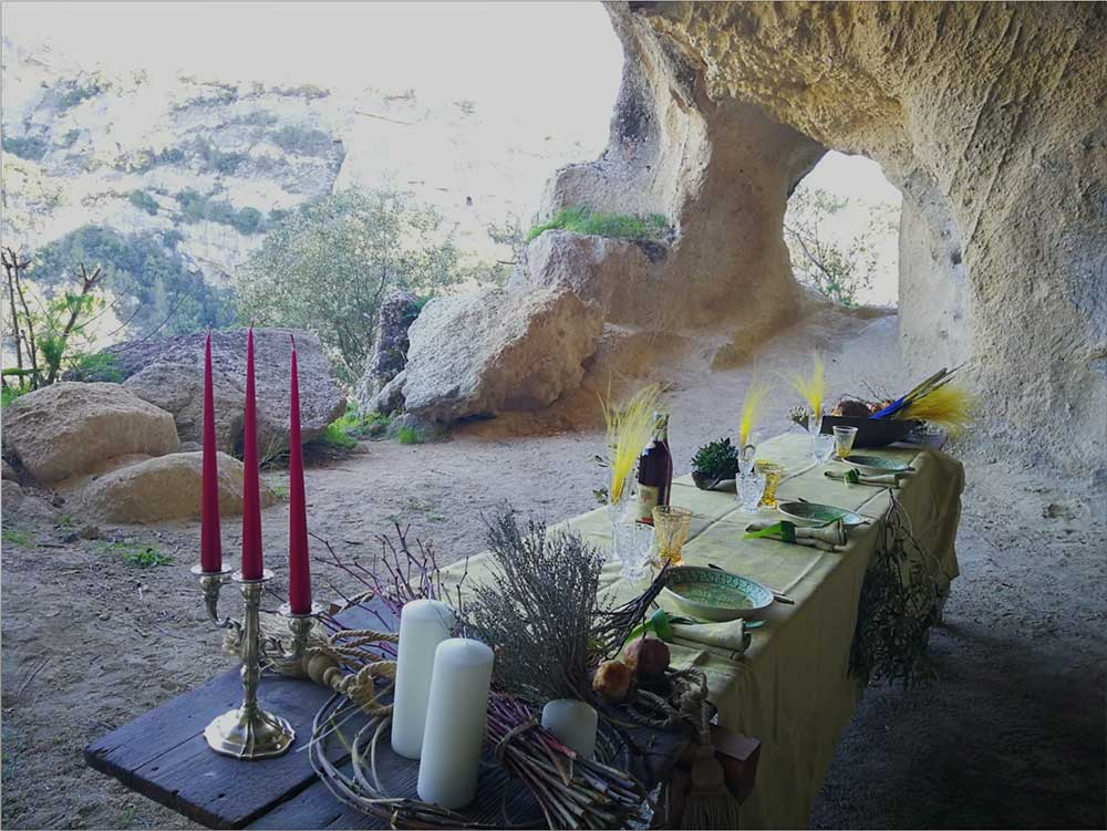 - Contact lesley[at]divertimentogroup.com if your agency would like to know more about DG LUXURY-Matera adventures like this gourmet cave dinner.