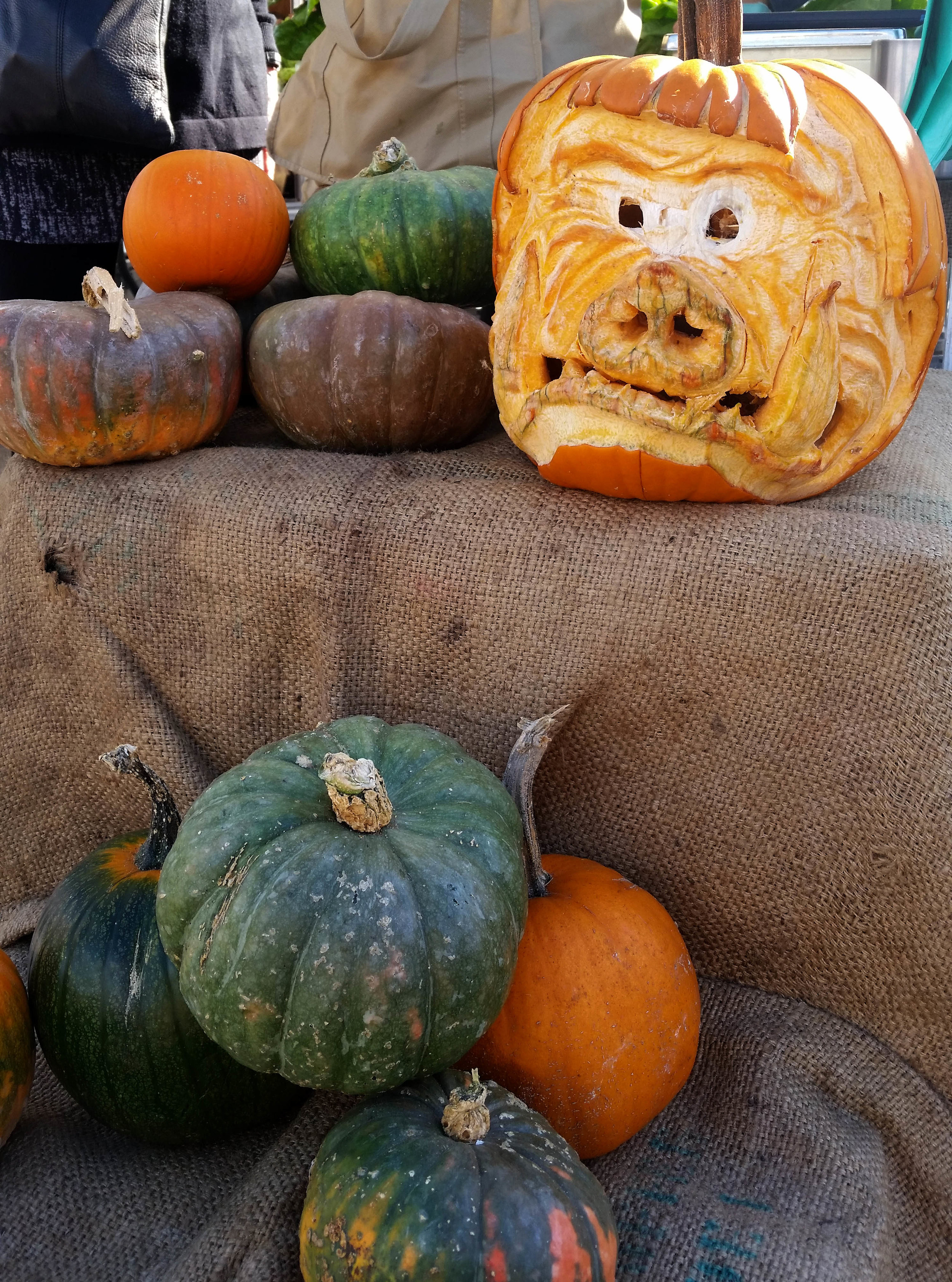 Harvest season at the market