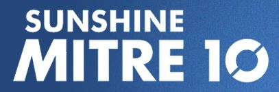 Thankyou - We would like to thank Sunshine Mitre 10 for their generous assistance for this project.