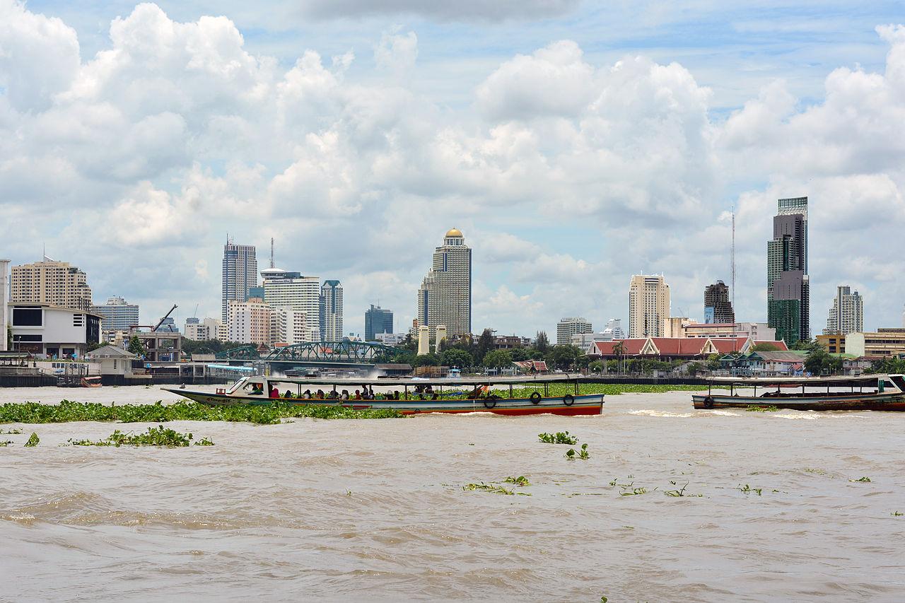 The Chao Phraya River, Bangkok (Present Time)