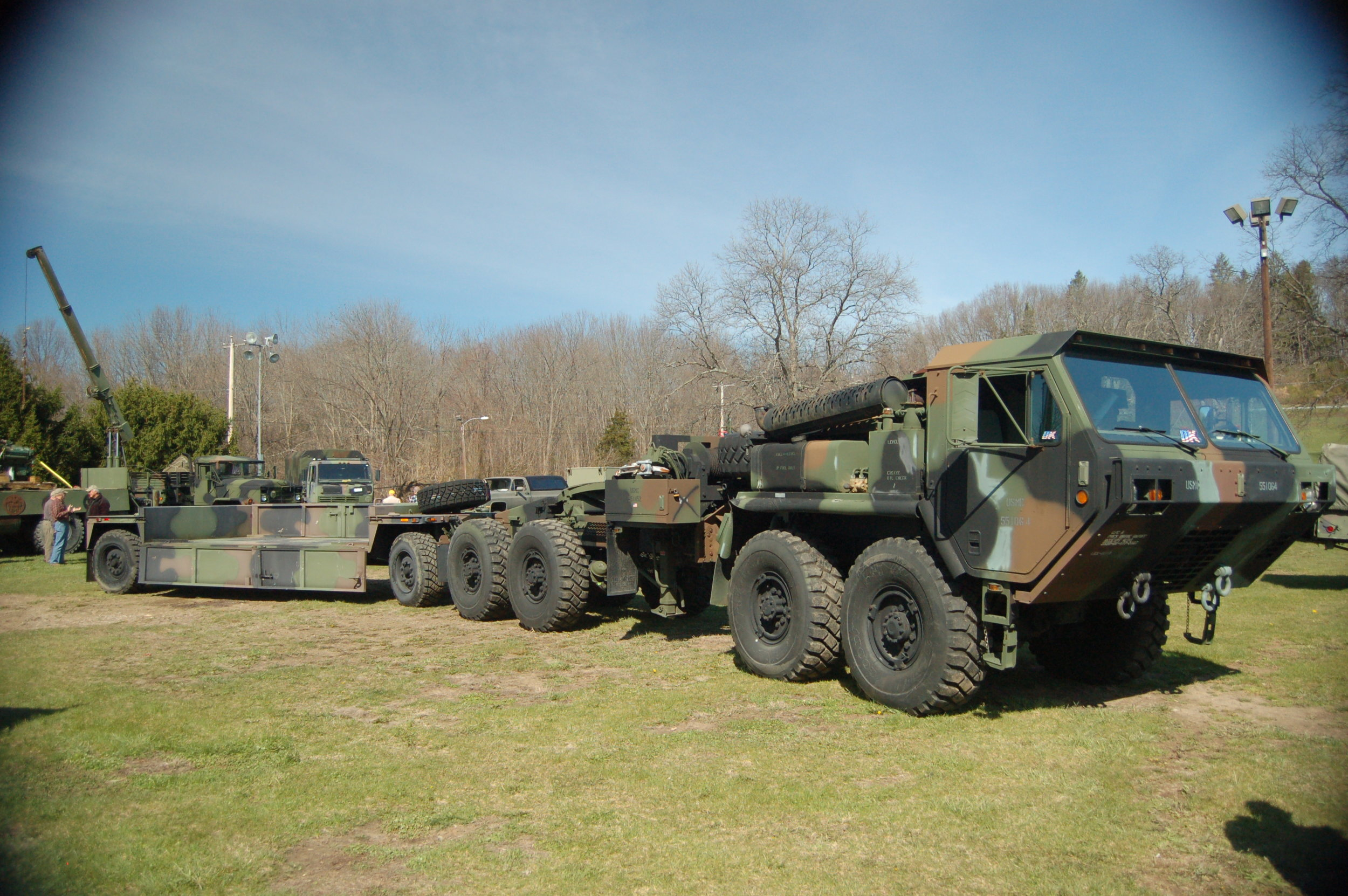 Military Vehicles   of every size, type, & vintage   Click here for photos