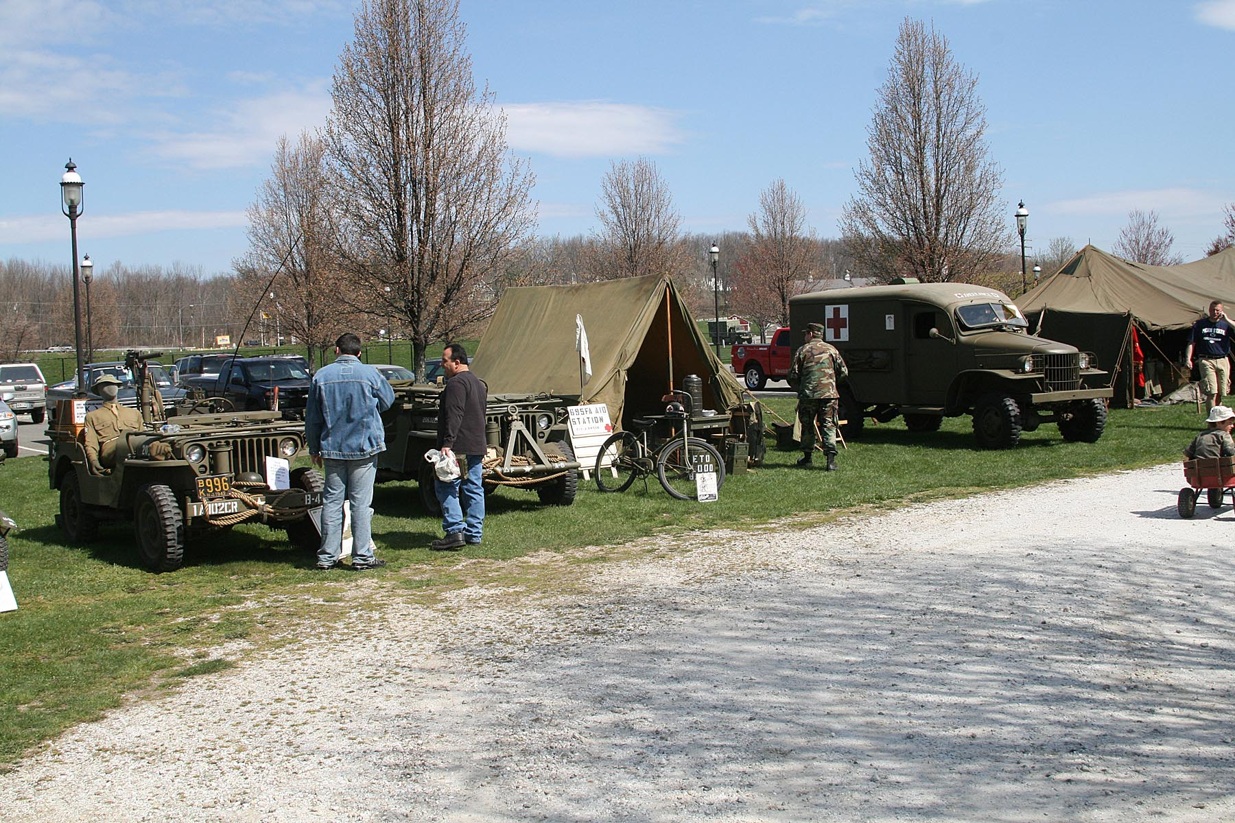 Annual Military Vehicle Show &   Swap Meet    click here for information