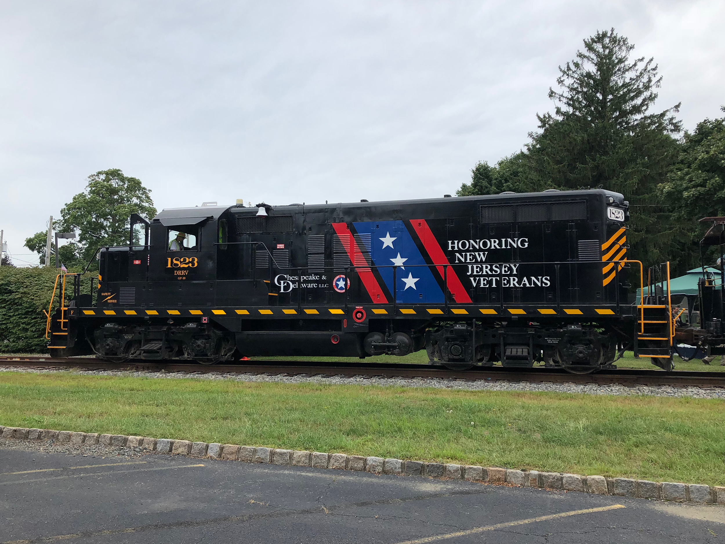 Veterans Locomotive   Unveiled on Sept. 8, 2018   Click Here to Learn More